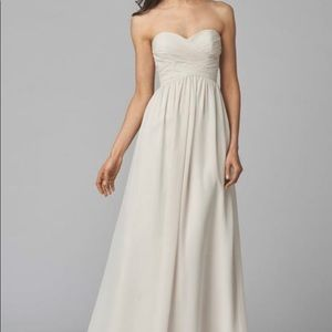 WToo - Waters - Bridesmaid Dress - Size 2 Pearl